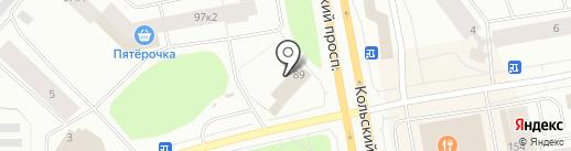 My Apple на карте Мурманска