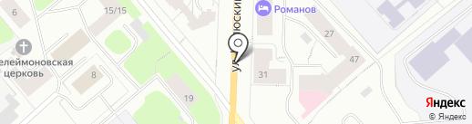 MALINA на карте Мурманска