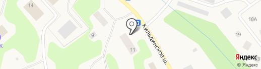 Почтовое отделение на карте Зверосовхоза