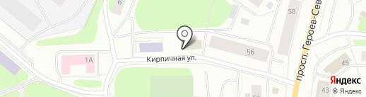 Перевоз51.ру на карте Мурманска