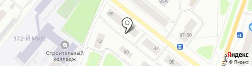 Путеводная звезда на карте Мурманска