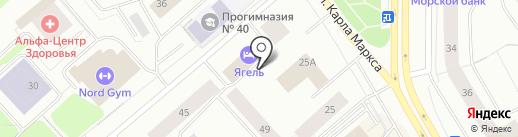 Комитет рыбохозяйственного комплекса Мурманской области на карте Мурманска