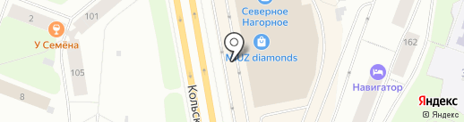 Zarina на карте Мурманска