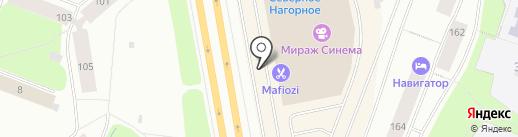 Домино на карте Мурманска