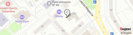 Нордик Капитал на карте Мурманска