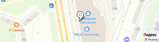 Бал украшений на карте Мурманска