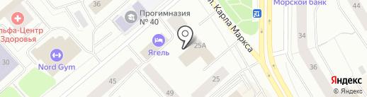 Мурманское отделение генерального консульства Финляндии в Санкт-Петербурге на карте Мурманска