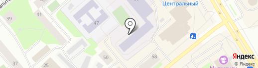 Мурманский колледж экономики и информационных технологий на карте Мурманска