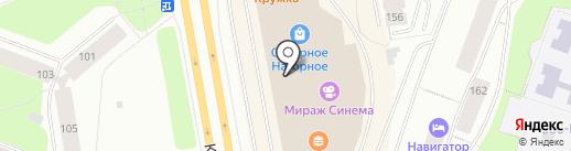 Acoola на карте Мурманска