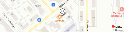 Торговый дом на карте Мурманска