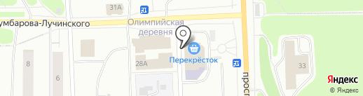 Фотоцентр на карте Мурманска