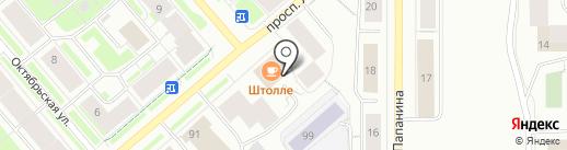 City Center на карте Мурманска