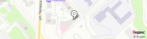 Сервис центр ТИС на карте Мурманска