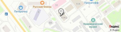 М151 на карте Мурманска
