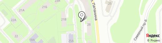 СК Страховой дом на карте Мурманска