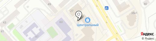 Мастеровой на карте Мурманска