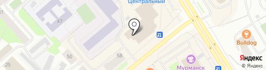 СпортБет на карте Мурманска