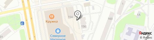 Парус, ТСЖ на карте Мурманска