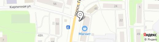 Билайн на карте Мурманска