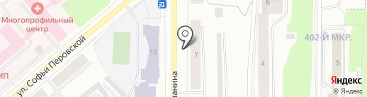 Unidance на карте Мурманска