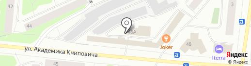 Альфасервис на карте Мурманска