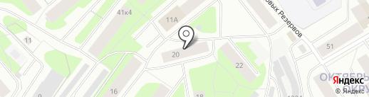 Компания полиграфических услуг на карте Мурманска