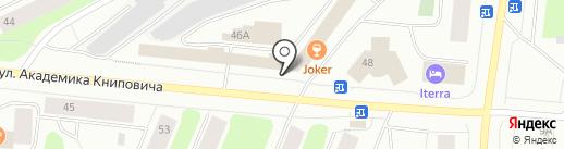 Автомир на карте Мурманска