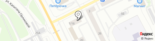 Самир на карте Мурманска