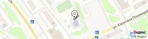 СДЮШОР №13 олимпийского резерва на карте Мурманска