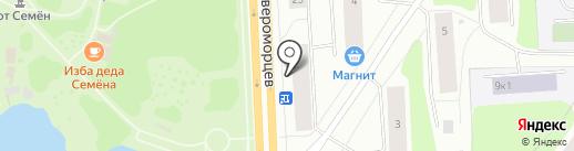 Банкомат, Совкомбанк, ПАО на карте Мурманска