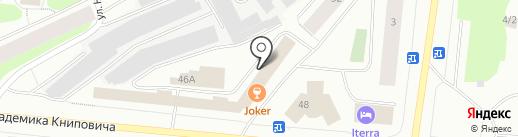 Арктический театр на карте Мурманска