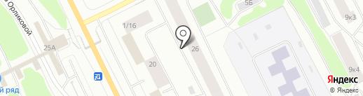 Стоматологический кабинет на карте Мурманска