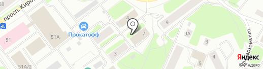 Точка опоры на карте Мурманска