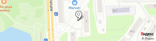 Белорусские колбасы на карте Мурманска