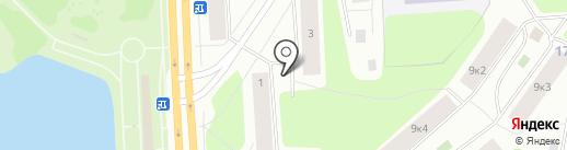 Мебельщик на карте Мурманска