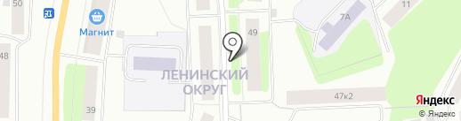 Альфа-банк на карте Мурманска