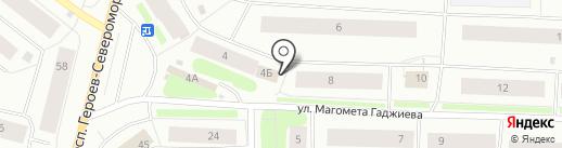 Связь-Безопасность, ФГУП на карте Мурманска
