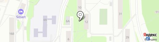 Участковый пункт полиции на карте Мурманска