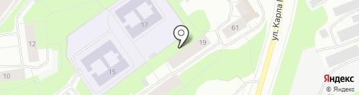 ЯРКО 5 на карте Мурманска