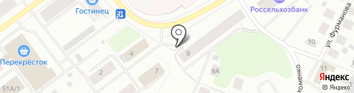 АФИНА на карте Мурманска