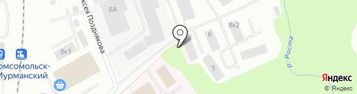 Норд Плюс на карте Мурманска