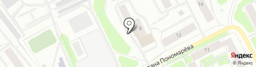 Информационный центр Управления МВД России по Мурманской области на карте Мурманска