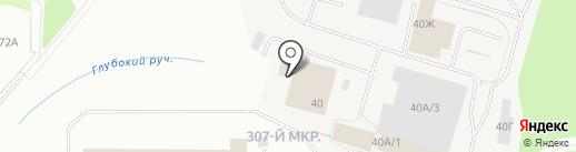 Флот-Сервис на карте Мурманска