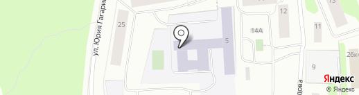 Средняя общеобразовательная школа №44 на карте Мурманска