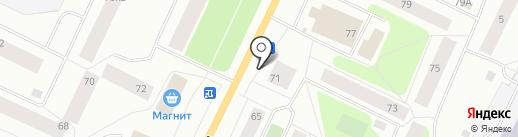 Магазин хозтоваров на карте Мурманска