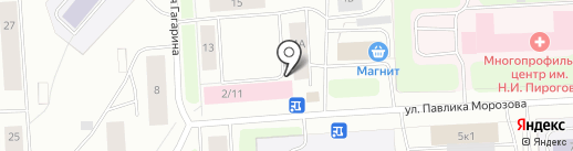 Дорожное радио, FM 106.0 на карте Мурманска