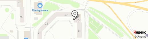 Центр торговли стройматериалами на карте Мурманска