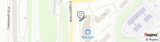 Мир Мебели на карте Мурманска