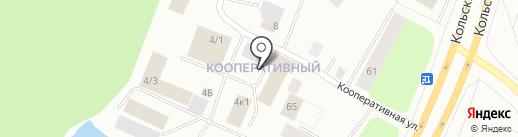 Драйв на карте Мурманска