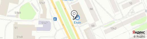 SPAR на карте Мурманска